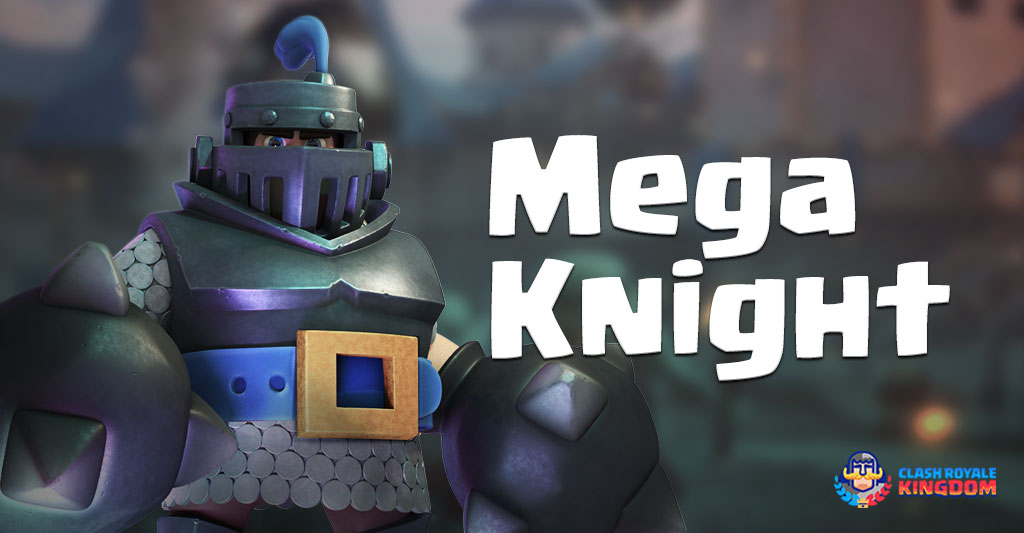 Mega Knight The Smasher Beast - Clash Royale Kingdom