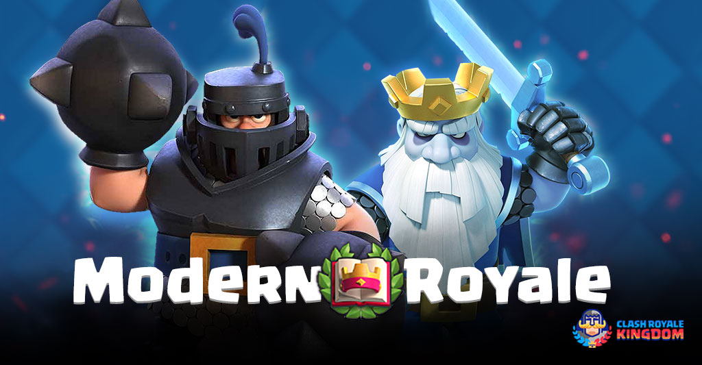 Modern Royale Clash Royale-Kingdom