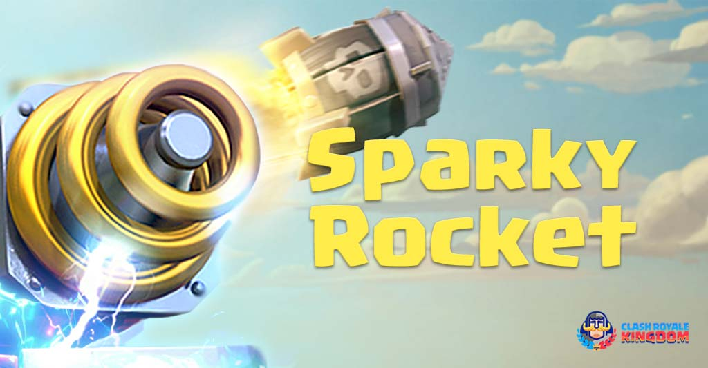Sparky Rocket Deck