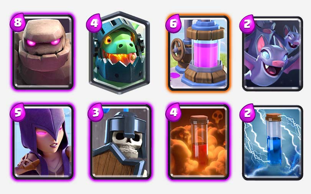 Golem-Inferno-Dragon-Deck-Arena-10-clash-royale-kingdom