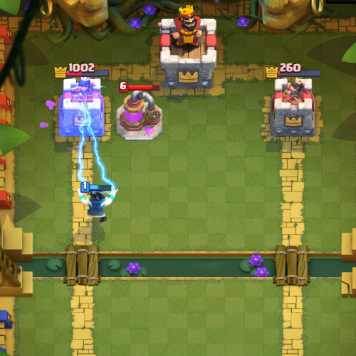 electro wizard-attacking-tower