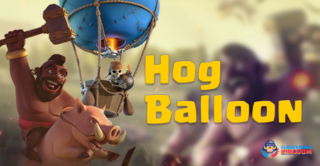 Incredible Hog Rider Deck with Balloon