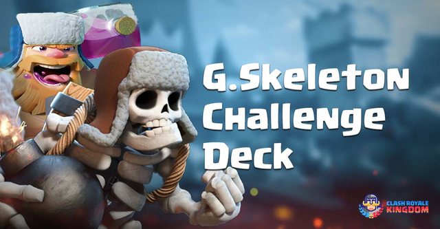 Best Giant Skeleton Deck Challenge