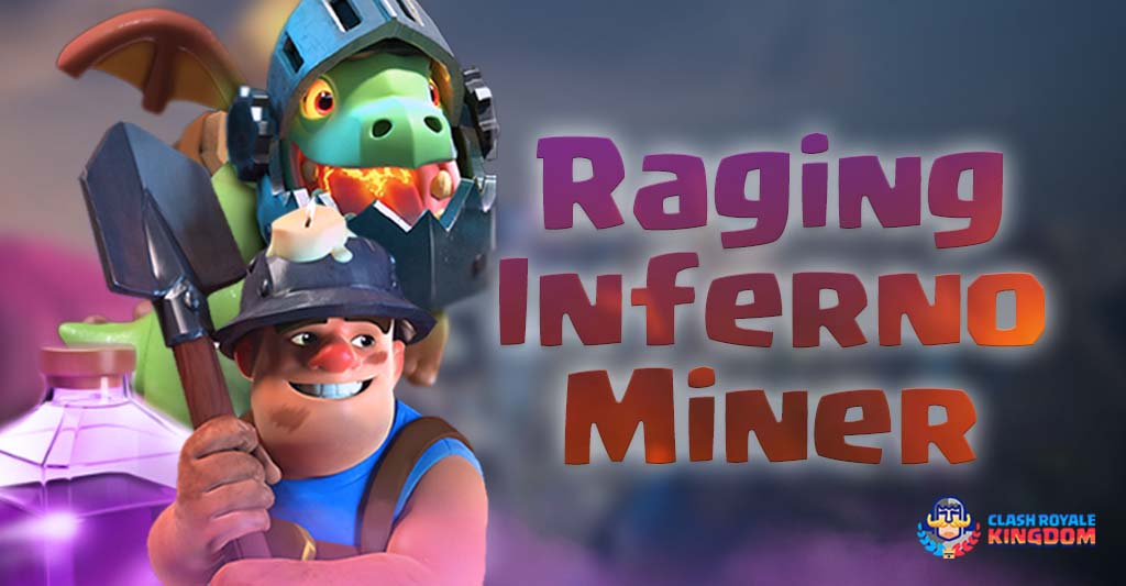 Raging Inferno Dragon Miner Deck
