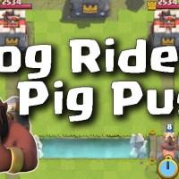 Hog Rider Pig Push