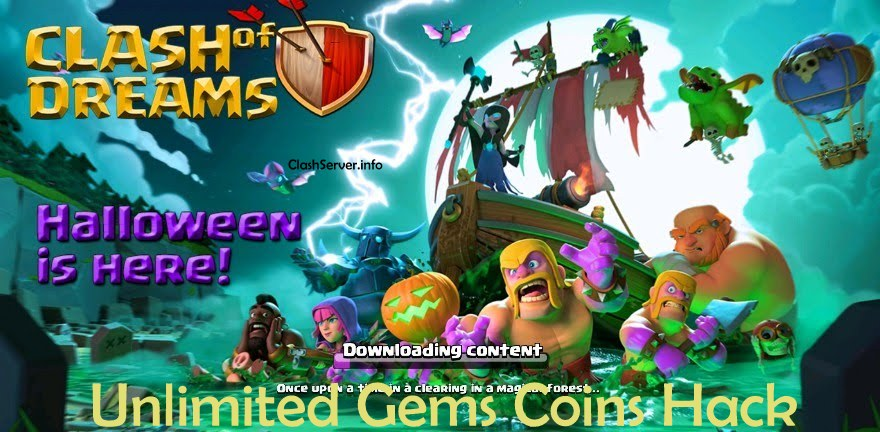 Clash of Dreams Unlimited Coins Gems Hack Mod apk 2018