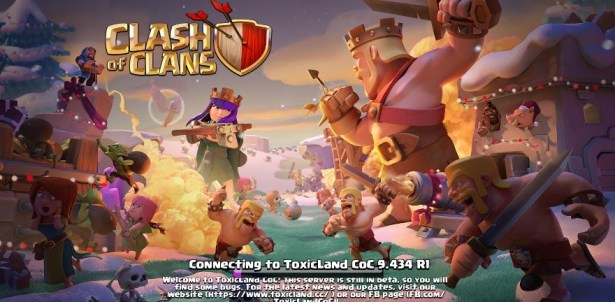 ToxicLand Apk Clash of Clans Private Server