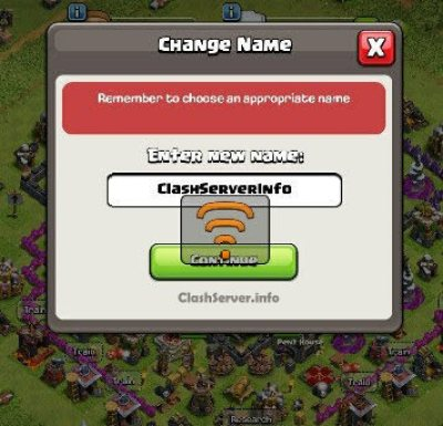 Clash of Clans Name Change 2019