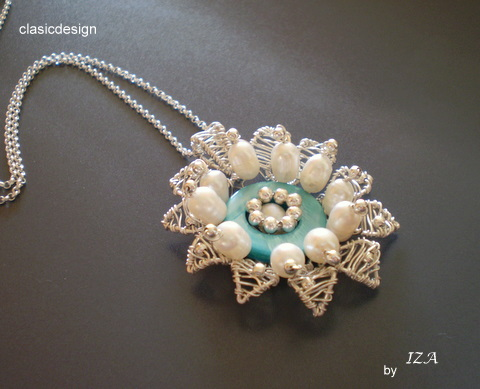 coliere-perle naturale-argint