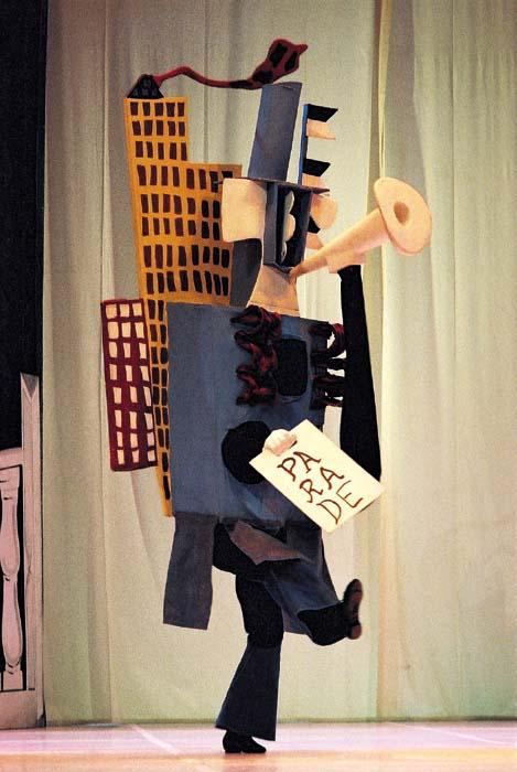 Picaso - Parade ballet costumes
