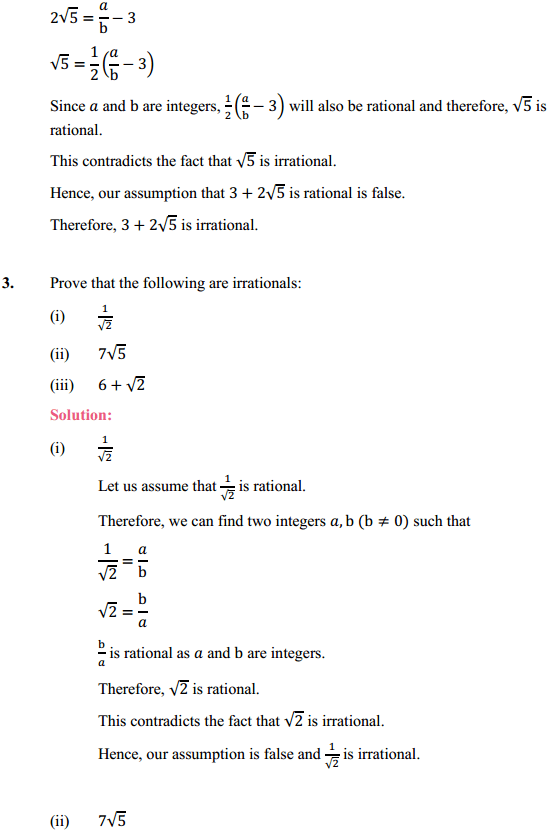 NCERT Solutions for Class 10 Maths Chapter 1 Real Numbers Ex 1.3 2