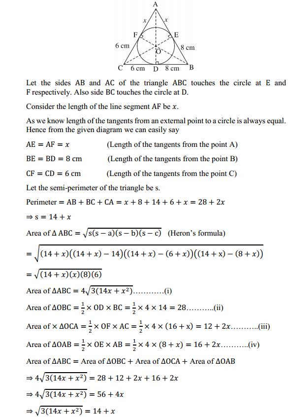 NCERT Solutions for Class 10 Maths Chapter 10 Circles Ex 10.2 10