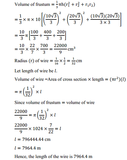 NCERT Solutions for Class 10 Maths Chapter 13 Surface Areas and Volumes Ex 13.4 6