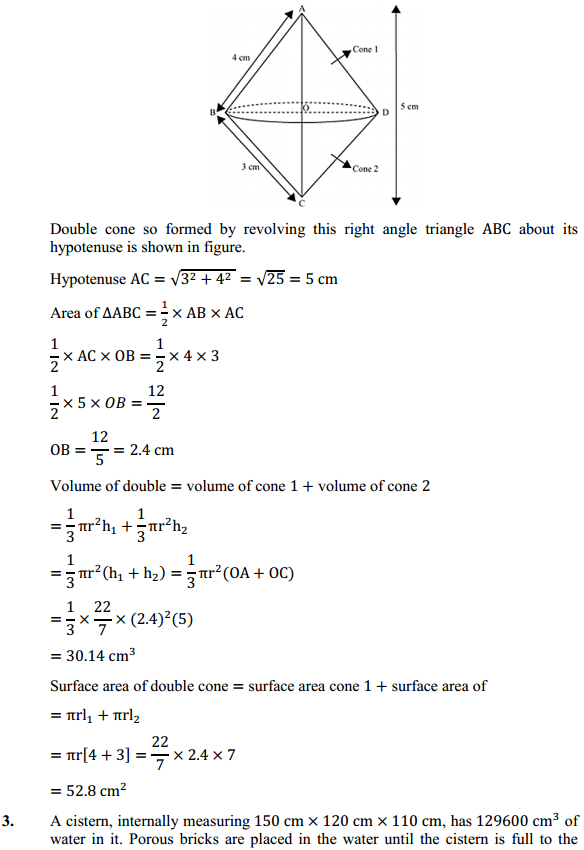 NCERT Solutions for Class 10 Maths Chapter 13 Surface Areas and Volumes Ex 13.5 3