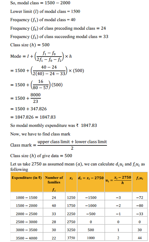 NCERT Solutions for Class 10 Maths Chapter 14 Statistics Ex 14.2 4