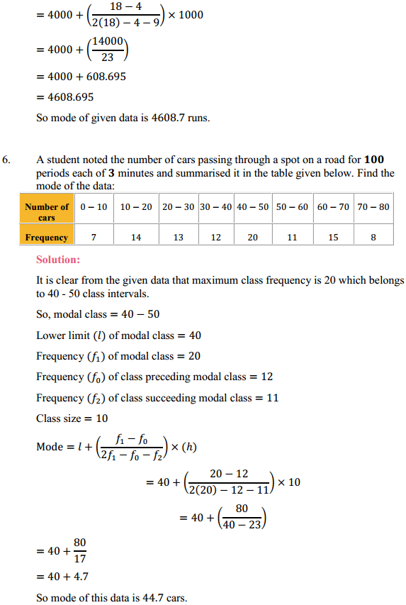 NCERT Solutions for Class 10 Maths Chapter 14 Statistics Ex 14.2 8