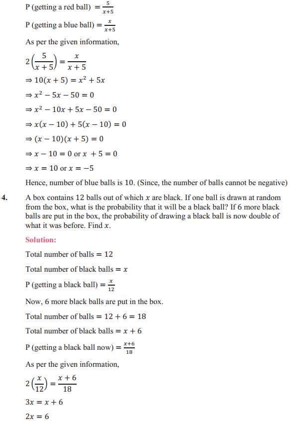 NCERT Solutions for Class 10 Maths Chapter 15 Probability Ex 15.2 3