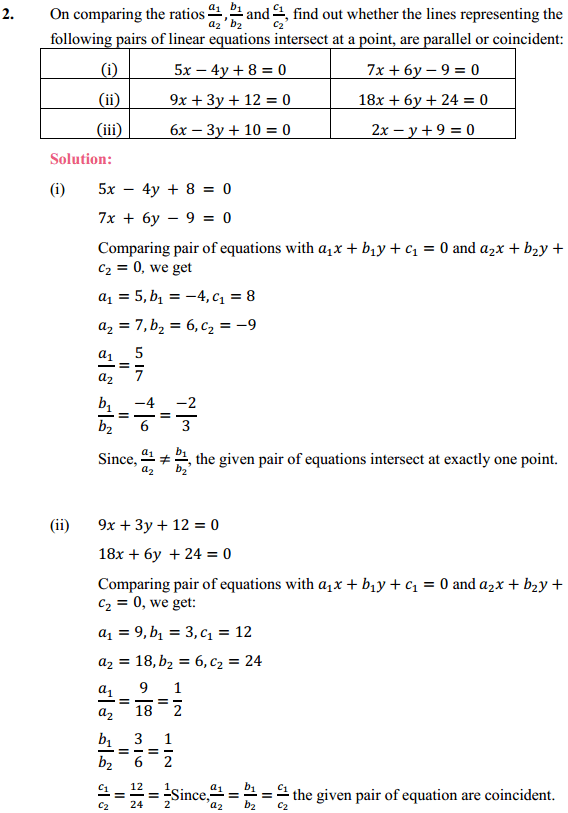 NCERT Solutions for Class 10 Maths Chapter 3 Pair of Linear Equations in Two Variables Ex 3.2 4