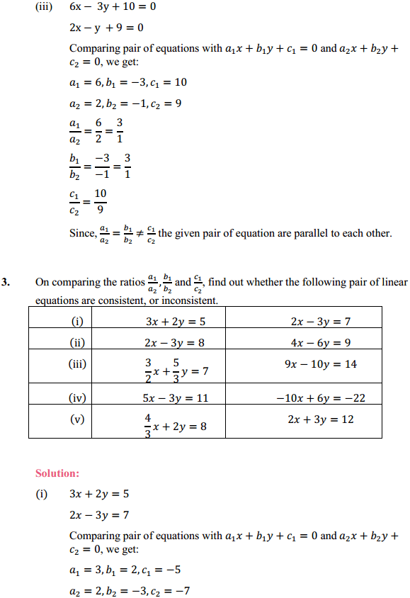 NCERT Solutions for Class 10 Maths Chapter 3 Pair of Linear Equations in Two Variables Ex 3.2 5