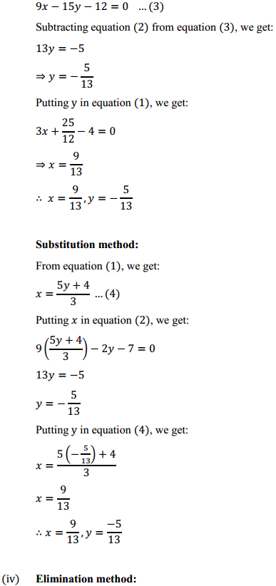 NCERT Solutions for Class 10 Maths Chapter 3 Pair of Linear Equations in Two Variables Ex 3.4 4