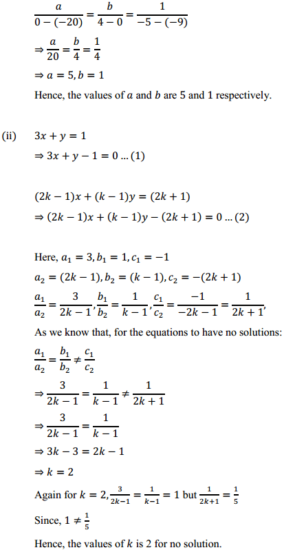 NCERT Solutions for Class 10 Maths Chapter 3 Pair of Linear Equations in Two Variables Ex 3.5 5
