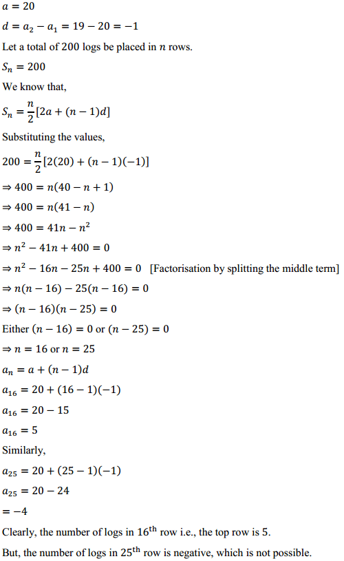 NCERT Solutions for Class 10 Maths Chapter 5 Arithmetic Progressions Ex 5.3 25
