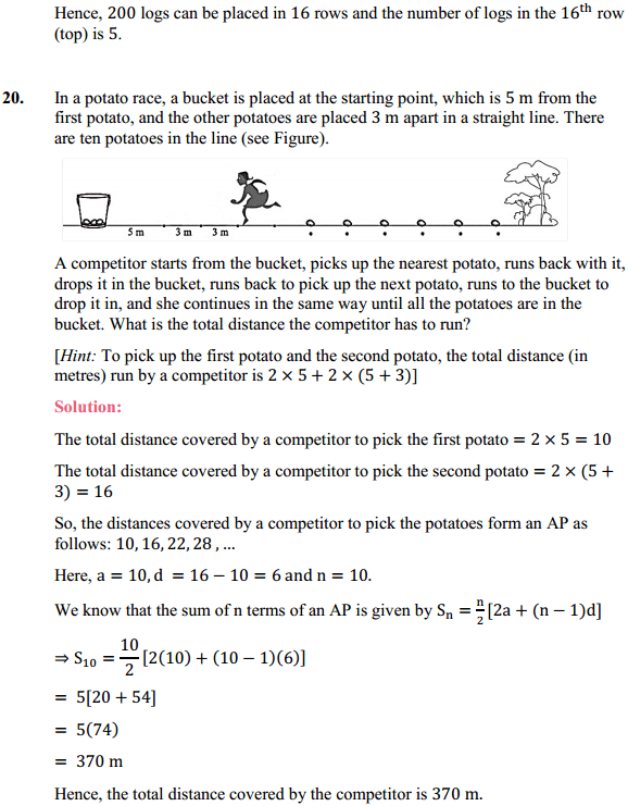 NCERT Solutions for Class 10 Maths Chapter 5 Arithmetic Progressions Ex 5.3 26