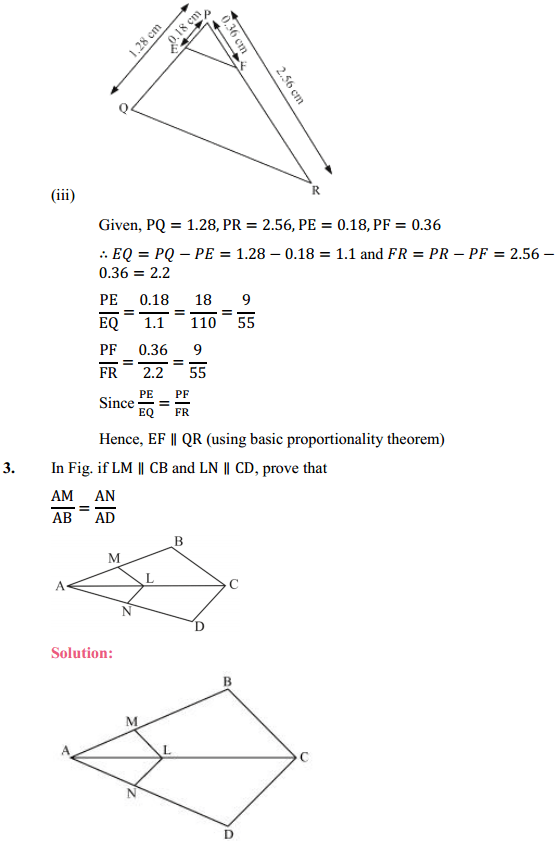 NCERT Solutions for Class 10 Maths Chapter 6 Triangles Ex 6.2 5