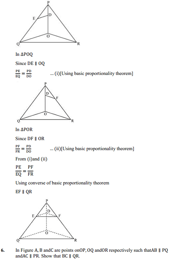NCERT Solutions for Class 10 Maths Chapter 6 Triangles Ex 6.2 8