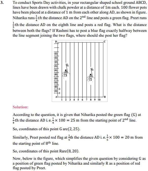 NCERT Solutions for Class 10 Maths Chapter 7 Coordinate Geometry Ex 7.2 3
