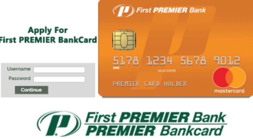 FirstPremierCard login