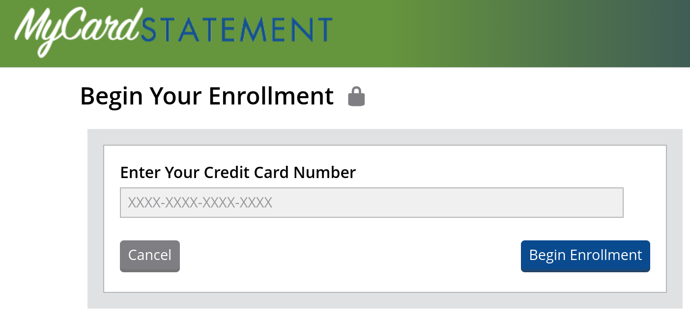 mycardstatement.com secure