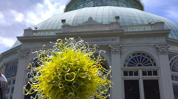 The New York Botanical Garden CHIHULY Exhibit Will Take You On A Vibrant Walk This Season