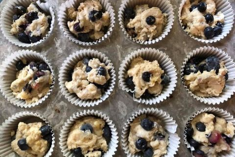 vegan-blueberry-muffins