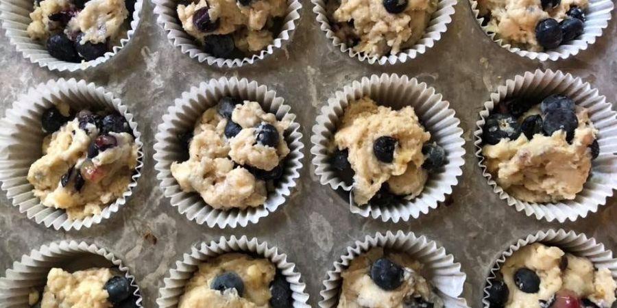vegan-blueberry-muffins