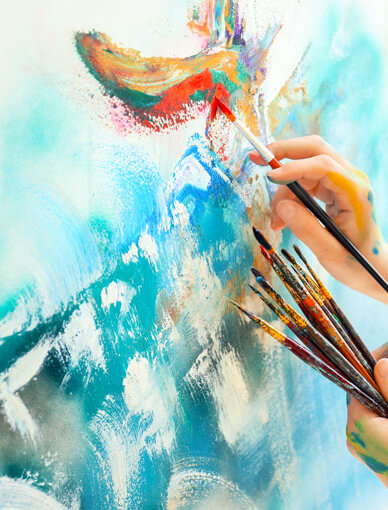Abstract Art Painting Workshop Sydney Events Classbento