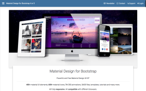 Material Design for Bootstrap marries together the best of Google's Material Design and Bootstrap in one easy-to-use framework.