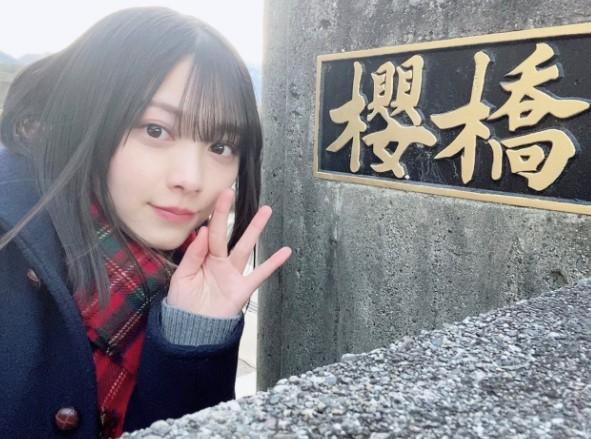 ドラマ撮影現場で見かけた「櫻橋」とるんちゃん