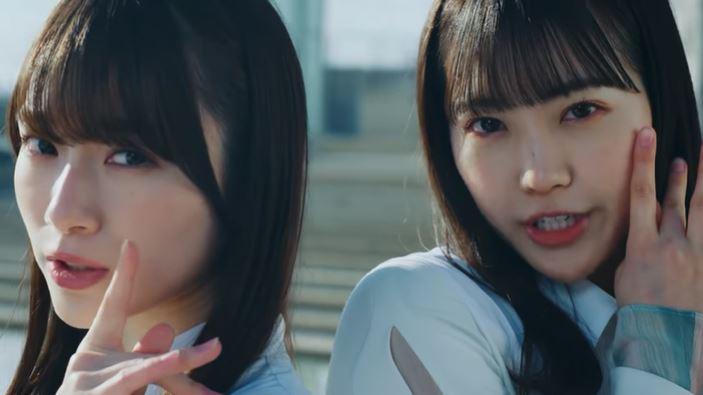櫻坂46・2ndシングル「BAN」のMVから