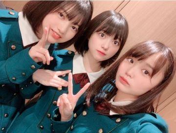 林瑠奈、幸阪茉里乃、増本綺良(左から)
