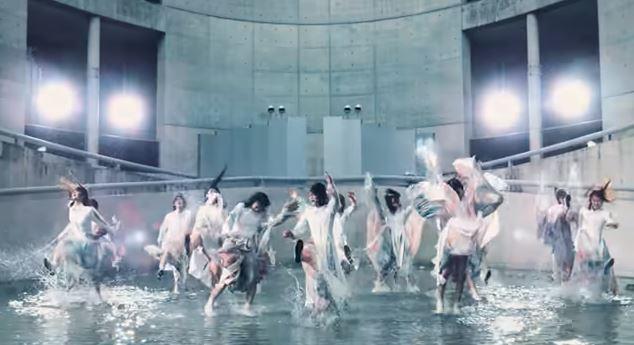 櫻坂46の2ndシングル「BAN」のMVのラストシーン