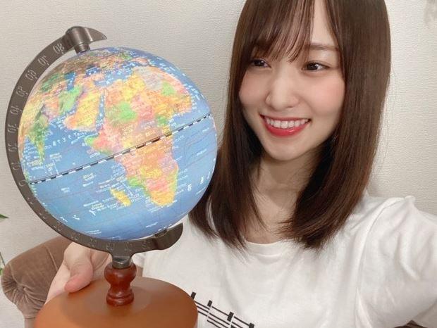 澤部賞の地球儀