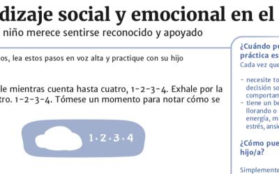 Aprendizaje social y emocional (SEL) en el hogar