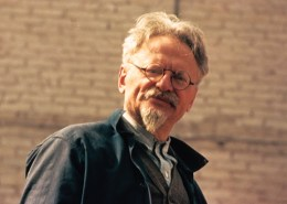 Leon Trotsky, leading Russian revolutionary and Marxist thinker. Founder of the Fourth International in 1938