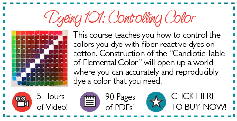 Dyeing 101 Controlling Color