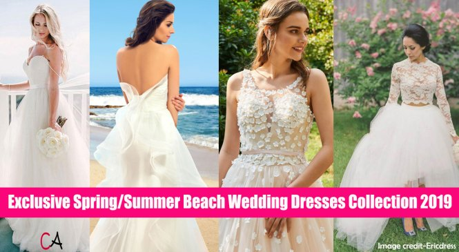 15 Famed Beach Wedding Dresses Styles – Save Up To 83%