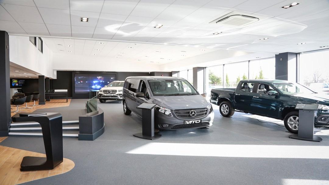 New Workshop extension at Exeter's Mercedes Van Centre