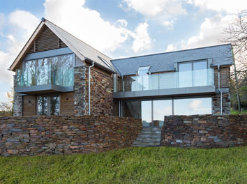 Beautiful New Home Completed In North Cornwall