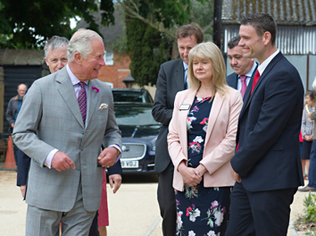Classic Builders' Dorset Project Welcomes Royal Inspection