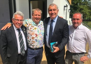 Classic Builders Celebrate Opening of Community Sports Hub Building